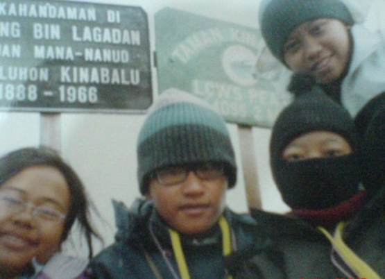 1st time on Mount Kinabalu in 2003